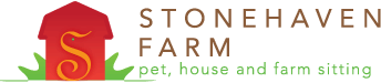 Stonehaven Farm pet sitting, farm sitting, house sitting - Amherst, Virginia